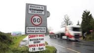 Freie Fahrt ohne Kontrollen: die Grenze zwischen Irland und Nordirland