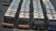 Auslaufmodelle: Wiesbaden will im Nahverkehr alle Dieselbusse durch E-Busse ersetzen.