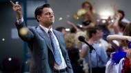 "Ein Milieu, das Pathologien befördert? Leonardo di Caprio als Börsenmakler in dem Film ""The Wolf of Wall Street"""