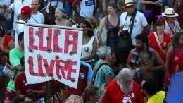 Unterstützer fordern Freilassung von Lula da Silva