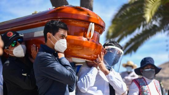 Peru hat die höchste Sterberate in Lateinamerika