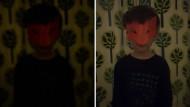 Porträtaufnahmen im Dunkeln lassen sich mit dem S9+ (rechts) nun machen, ebenso wie ...