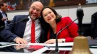 Ohne Vertrauen geht nichts: Schulz und Nahles im Oktober 2017.