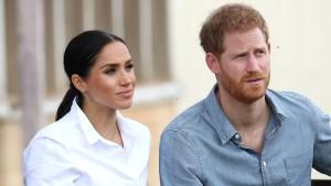 Prinz Harry und Meghan schließen Vertrag mit Netflix