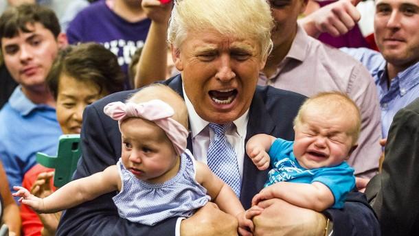 Präsident Trump zum neunten Mal Opa
