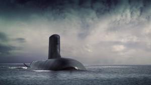 Lärmende deutsche U-Boote
