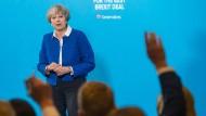 Premierministerin Theresa May bei einem Wahlkampfauftritt