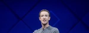 Facebook-Gründer Mark Zuckerberg freut sich über gute Zahlen.