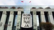 Das Oberste Gericht in Warschau (Archivbild)