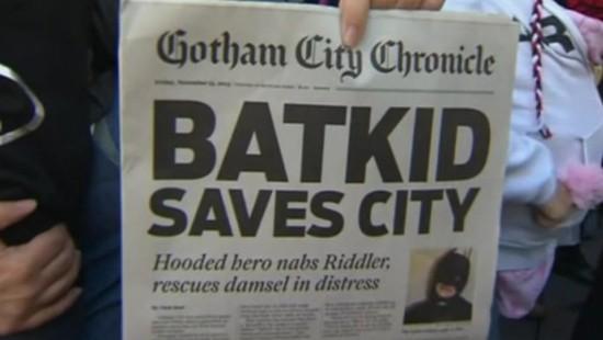 Einmal Batman sein