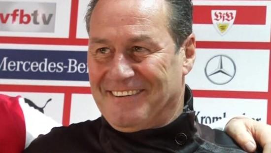 Huub Stevens soll Stuttgart vor dem Abstieg retten