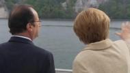 Merkel macht Ausflug mit Hollande