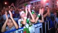 Algerische Fans trotz WM-Niederlage begeistert
