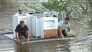 Verheerende Flutschäden im Nordosten