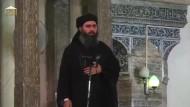 Isis-Anführer Baghdadi zeigt sich erstmals öffentlich