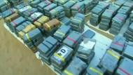 3,3 Tonnen Kokain in Peru beschlagnahmt