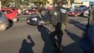 Polizist täuscht Unfall vor
