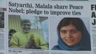 Satyarthi will mit Malala zusammenarbeiten