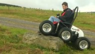 Mit dem Rollstuhl quer durchs Gelände