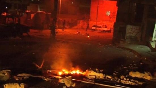 Ausschreitungen zwischen Palästinensern und israelischen Polizisten