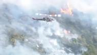 Buschfeuer bei Sydney außer Kontrolle
