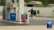 Autodiebstahl vor laufender Kamera
