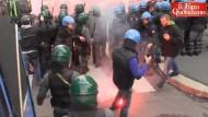 Ausschreitungen bei Demonstration in Italien