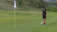 Footgolf verbindet zwei sehr unterschiedliche Sportarten