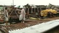 """Taifun """"Hagupit"""" tobt über die Philippinen"""
