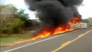 Augenzeugenvideo zeigt Unfallstelle in Brasilien