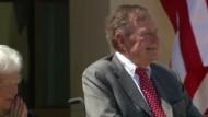 Ex-Präsident Bush senior im Krankenhaus