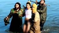 IS nimmt jordanischen Kampfpiloten gefangen