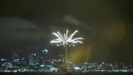 Neuseeland begrüßt das Neue Jahr