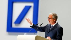 Achleitner baut Deutsche-Bank-Aufsichtsrat um