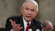Justizminister Jeff Sessions im Kapitol in Washington