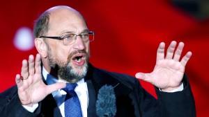 Schulz will AfD vom Verfassungsschutz beobachten lassen
