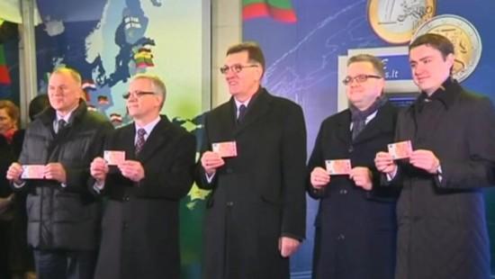 Litauen führt den Euro ein