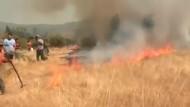 Hunderte auf der Flucht vor Buschfeuern in Chile