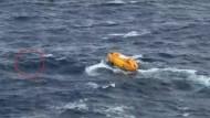 Glückliche Rettung von Kreuzfahrtpassagier