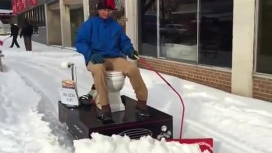 So macht Schneeräumen Spaß