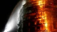 Brand im Moskauer Neujungfrauenkloster