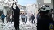 Amateurvideo zeigt Verwüstung nach Kämpfen in Aleppo