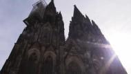 Kölner Dom im Zeichen der Trauer