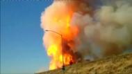 Gas-Pipeline explodiert in Kalifornien