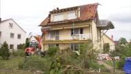 Schwere Schäden nach Tornado