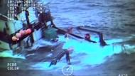 Spektakuläre Rettung auf See
