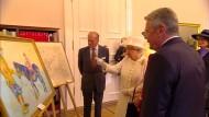 Gastgeschenk für die Queen sorgt für Diskussion