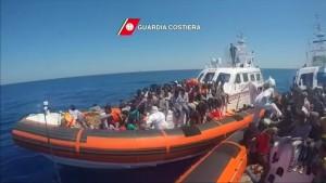 """""""Ein maritime Flüchtlingskrise von historischem Ausmaß"""""""