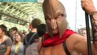 Comic-Fans treffen sich bei Comic-Con Messe