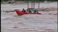 Heftige Überschwemmungen in Bolivien